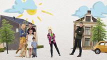 Klokhuis maakt serie en site over scheiden