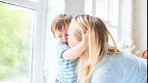 Hoe help ik mijn baby bij de emotionele verwerking van de scheiding?